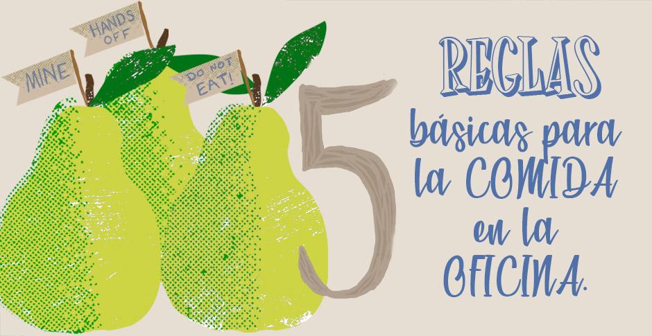 5 Reglas imprescindibles que toda oficina debe tener en el área de comida.